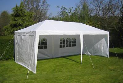 10 x 20 White Party Tent 2