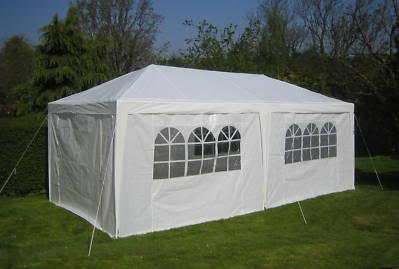 10 X 20 White Party Tent Canopy Gazebo