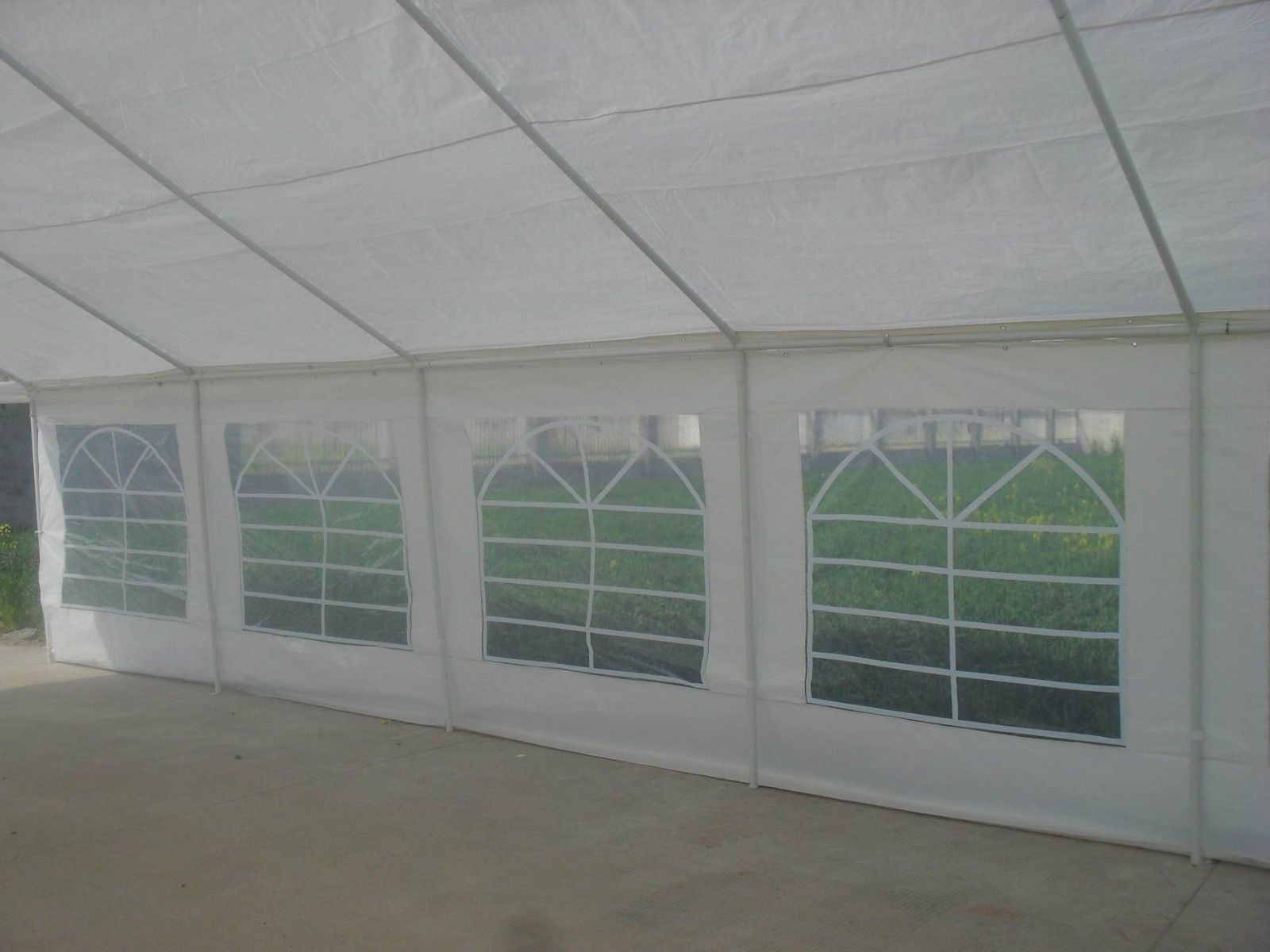 20 x 40 heavy duty white gazebo canopy tent for 20 40 window
