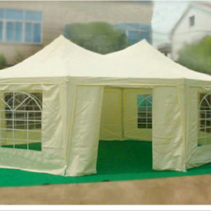 22 x 16 Gazebo Party Tent Beige