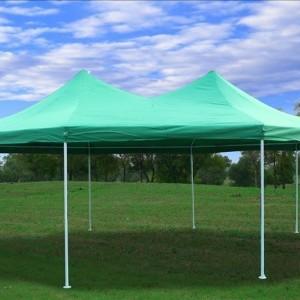 22 x 16 Green Gazebo Tent 02