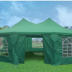 22 x 16 Green Gazebo Tent