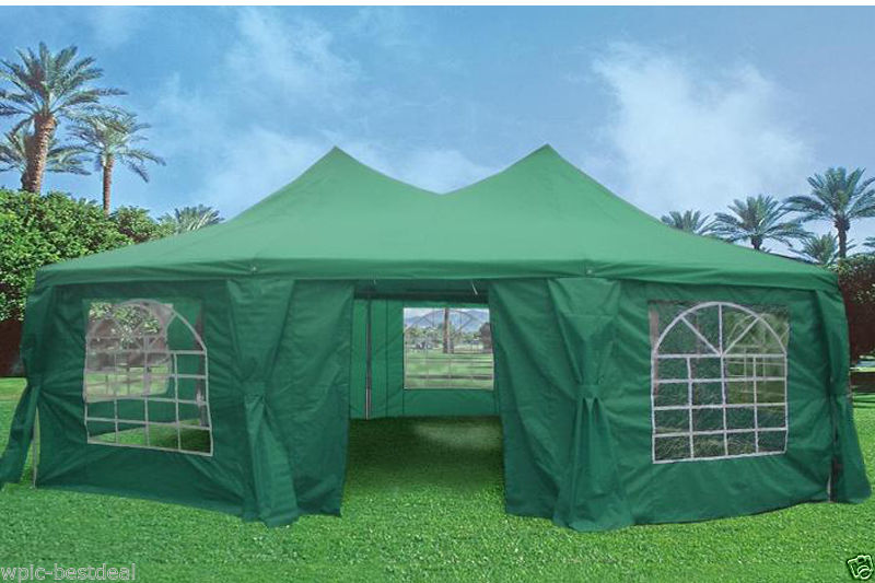 22 x 16 heavy duty party tent gazebo 4 colors. Black Bedroom Furniture Sets. Home Design Ideas