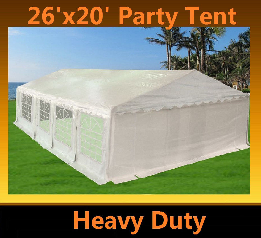 26 X 20 Heavy Duty Party Tent Gazebo Canopy