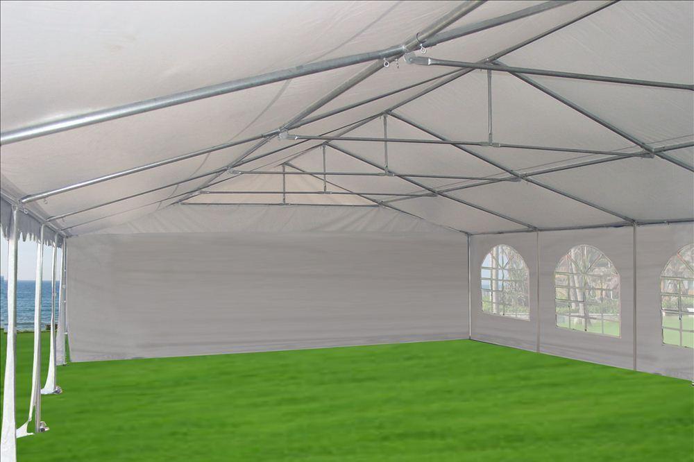 32 x 20 Heavy Duty White PVC Tent Canopy Gazebo