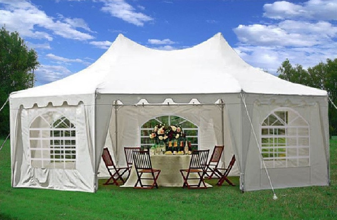 22 x 16 Heavy Duty Party Tent Gazebo Canopy – 4 Colors