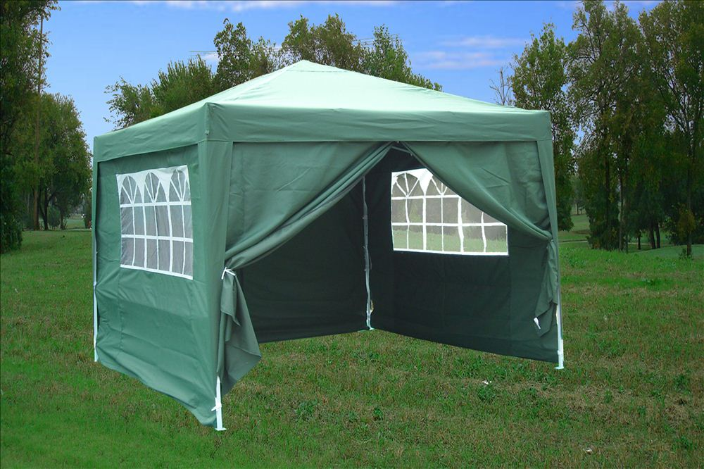Pop Up Tent Shelters : Easy pop up tent canopy w sidewalls colors