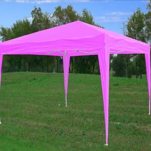 10 x 10 Pink Pop Up Tent