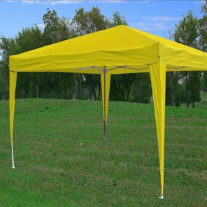 10 x 10 Yellow Pop Up Tent