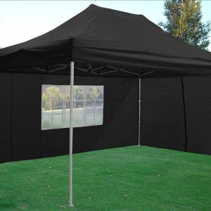 10 x 15 Black Pop Up Tent