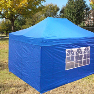 10 x 15 Blue Pop Up Tent