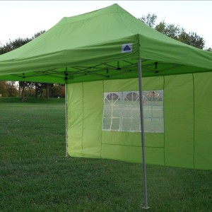 10 x 15 Emerald Green Pop Up Tent 2