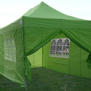 10 x 15 Emerald Green Pop Up Tent