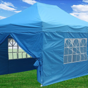 10 x 15 Light Blue Pop Up Tent