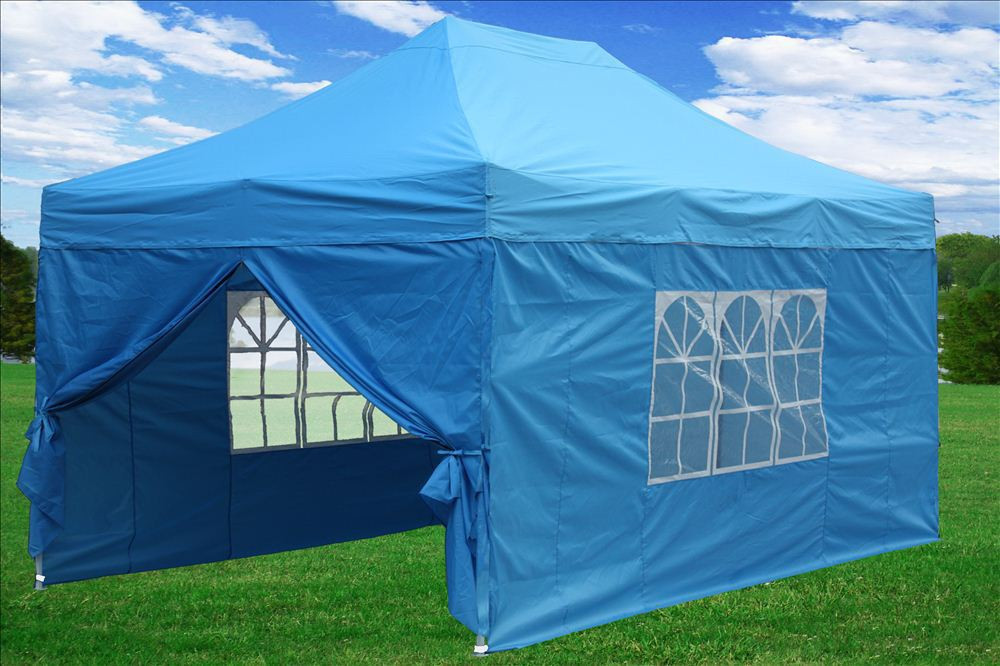 Green Color Canopies : Easy pop up tent canopy colors