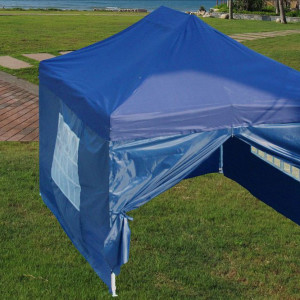10 x 15 Navy Blue Pop Up Tent