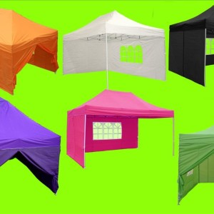 10 x 15 Pop Up Tents Multiple Colors