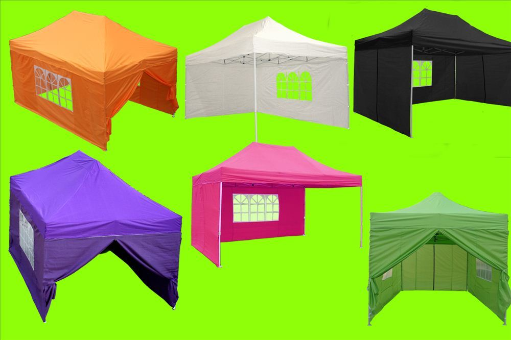 Electric Vehicles For Kids >> 10 x 15 Easy Pop Up Tent Canopy - 5 Colors