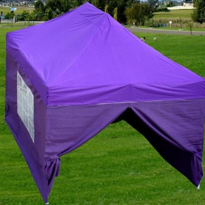 10 x 15 Purple Pop Up Tent