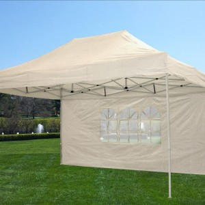 10 x 15 White Pop Up Tent 2