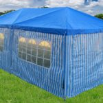 10 x 20 Catering Blue Gazebo