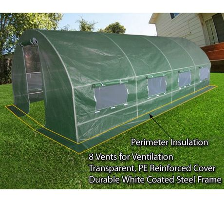 10 X 20 Portable Greenhouse Canopy