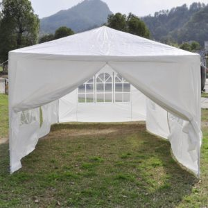 10 x 20 White Party Tent 4