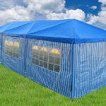 10 x 30 Catering Blue Gazebo Tent