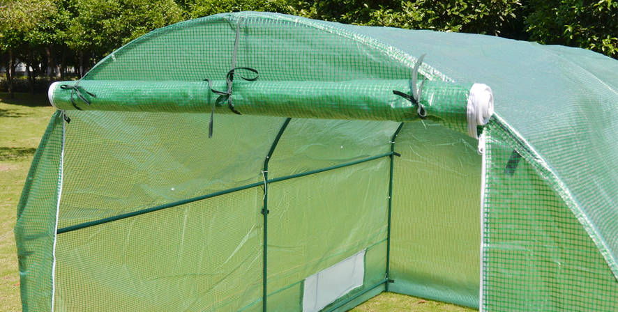 10 X 7 X 6 Portable Greenhouse Canopy