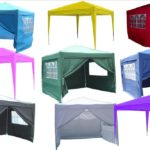 10 x 10 Pop Up Tent All Colors