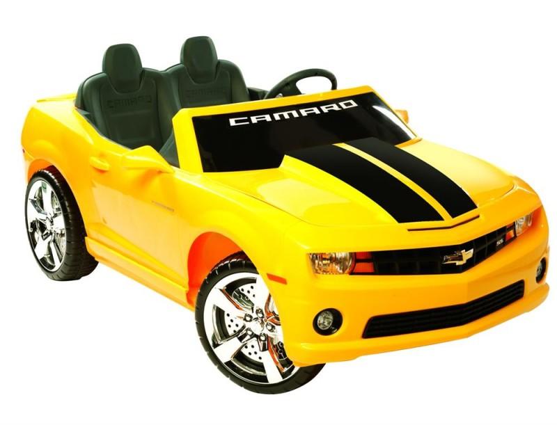 NPL Chevrolet Racing Camaro 12v Car - Black, Red or Yellow