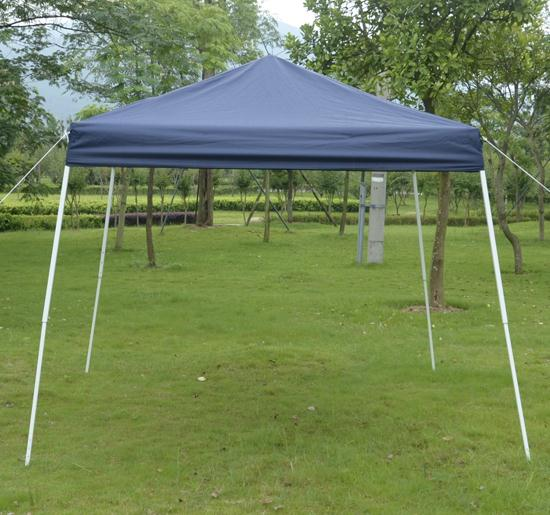 10 x 10 Blue EZ Pop Up Tent & 10 x 10 EZ Pop Up Party Tent Gazebo Canopy