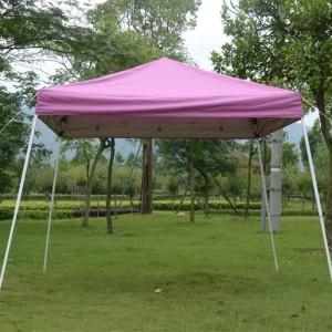 10 x 10 Pink EZ Pop Up Tent