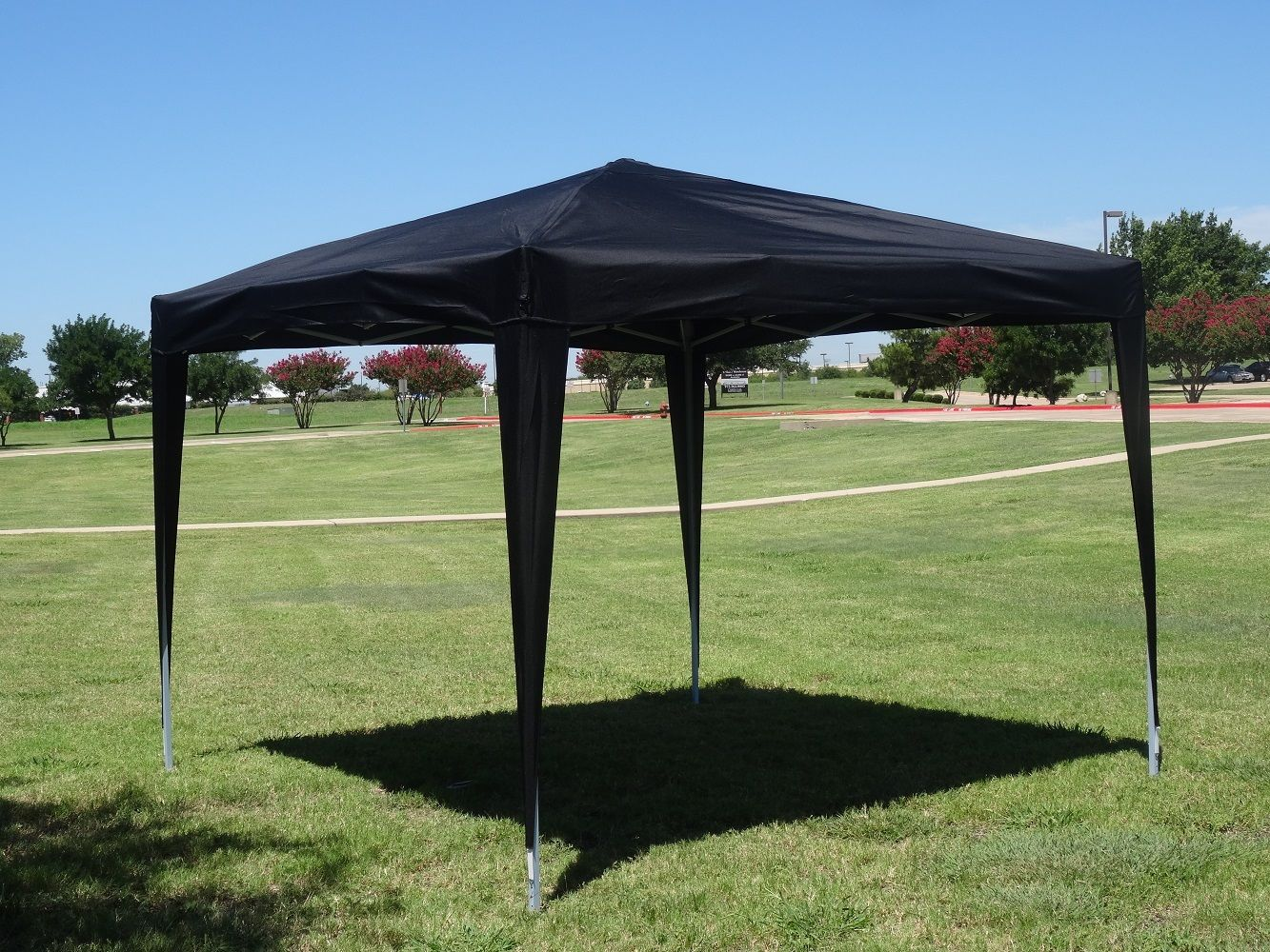 10 x 10 easy pop up canopy tent cs multiple colors. Black Bedroom Furniture Sets. Home Design Ideas