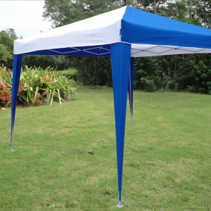 10 x 10 Pop UP CS Tent - Blue & White