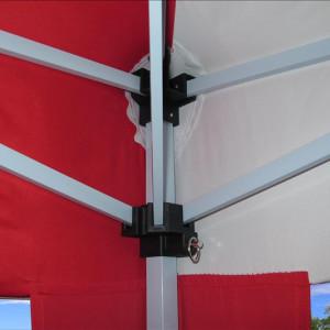 10 x 10 Pop UP CS Tent - Red & White 2