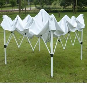 10 x 10 White EZ Pop Up Tent FRAME