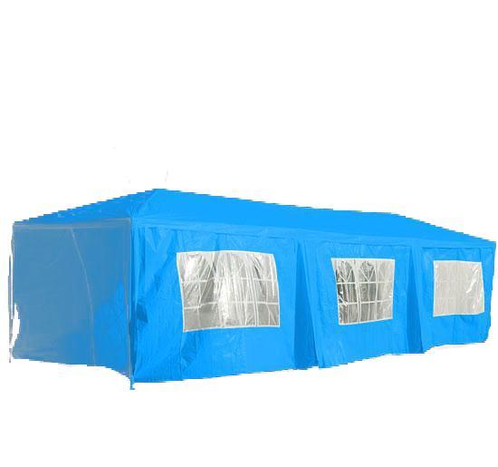 10 X 30 Blue Party Tent Canopy Gazebo