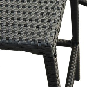 3 Piece Outdoor Wicker Dining Set 4