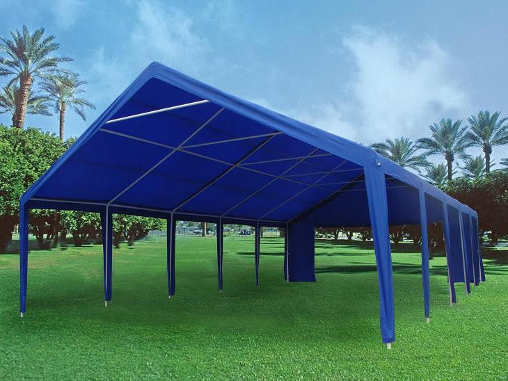 32 X 20 Heavy Duty Party Tent Gazebo Canopy Blue Green