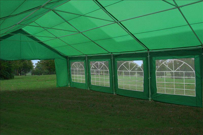 32 x 20 Heavy Duty Party Tent Gazebo Canopy - Blue / Green