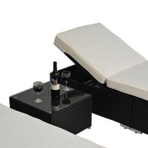 3pc Wicker Chaise Lounge Set 02