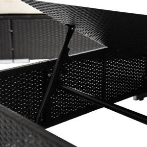 3pc Wicker Chaise Lounge Set 03