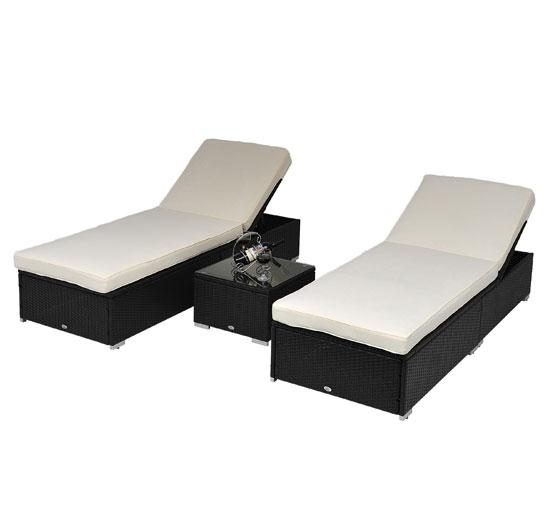 3pc Wicker Chaise Lounge Set 07  sc 1 st  Wholesale Event Tents : chaise lounge set - Sectionals, Sofas & Couches