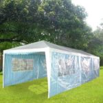 10 x 30 Blue & White Striped Tent