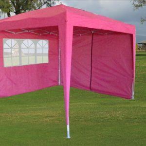 10 x 10 Pink Pop Up Tent 4