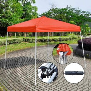 10 x 10 Red Pop Up Tent Simple