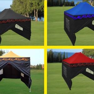 10 x 15 Flame Pop Up Tent Main Image