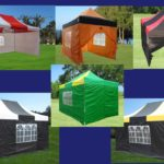 10 x 15 Striped Pop Up Tent Category Image