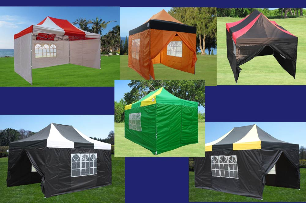 10 x 15 Striped Pop Up Tent Category Image : striped canopy tent - memphite.com